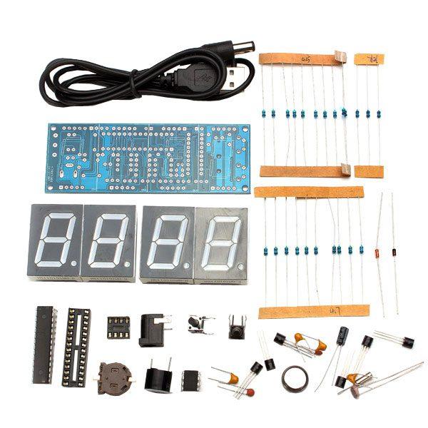 Orologio digitale con display e case - in kit
