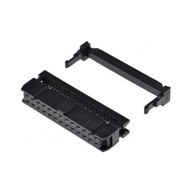 Connettore IDC a crimpare per Flatcable 2x13 pin - femmina