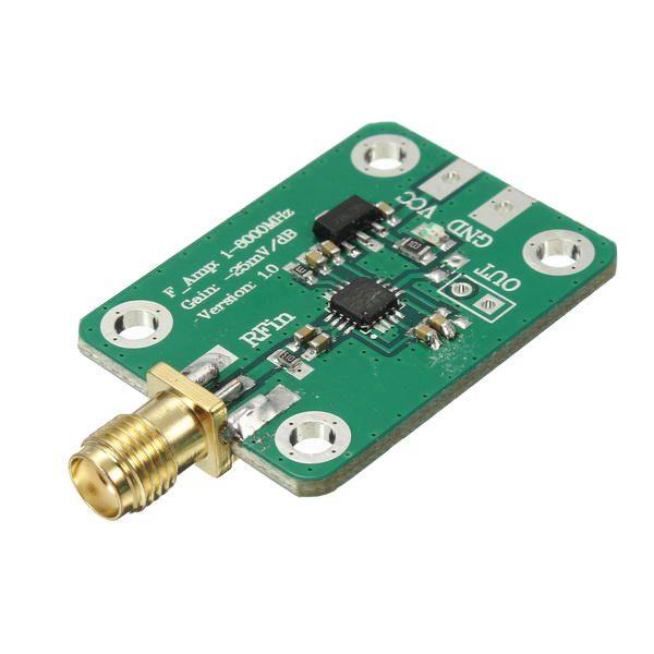Modulo rilevatore logaritmico RF da 1 MHz a 8 GHz