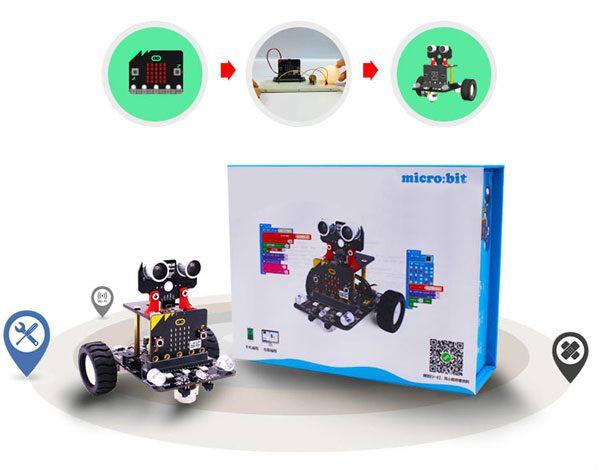 Smart Robot Car per Micro:bit