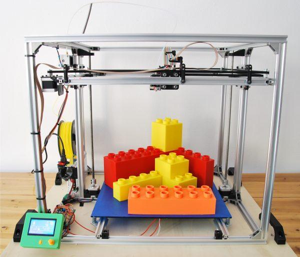 3D4040 - Stampante 3D 40x40x40 cm - in KIT