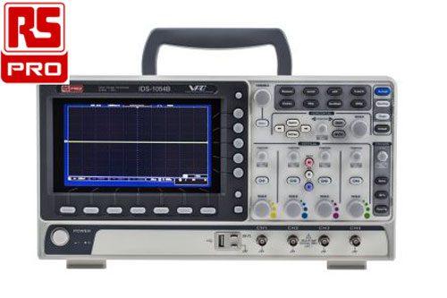 Oscilloscopio RS PRO 4 canali 50 MHz
