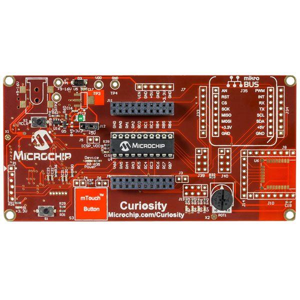 Scheda di sviluppo Microchip Curiosity