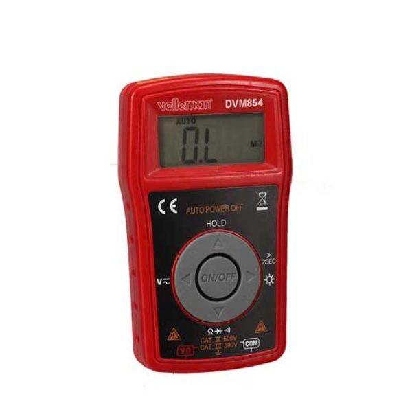 Multimetro digitale automatico a 3 ½ cifre - 500V-10A