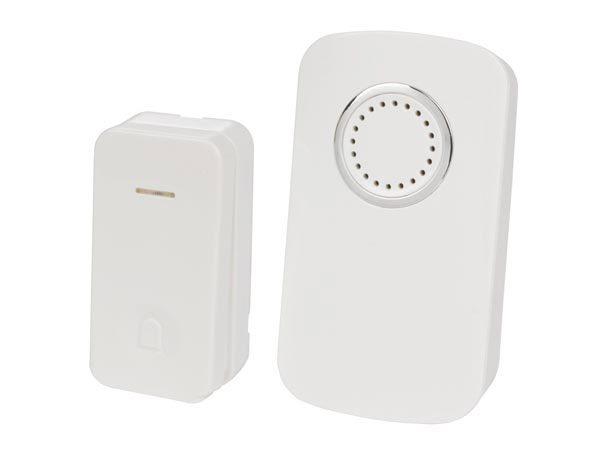 Campanello wireless con TX senza batteria