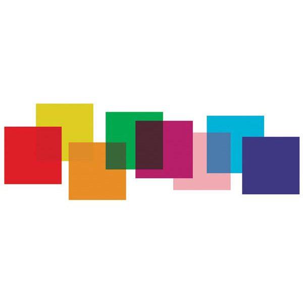 Set filtri colorati 8 pz - 25x25cm
