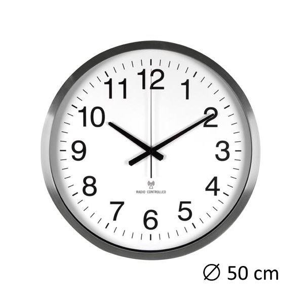 Orologio da parete con DCF - 50 cm