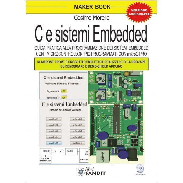 """Libro """"C e Sistemi Embedded"""" con CD"""