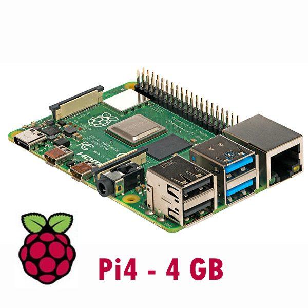 Raspberry Pi 4 Tipo B con 4GB di memoria